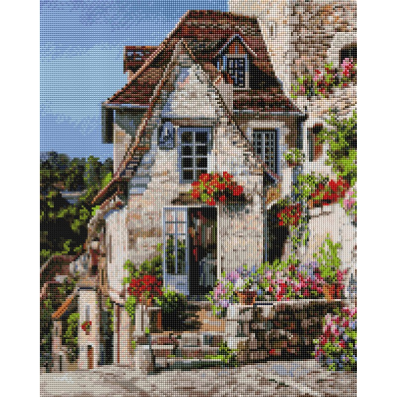 Алмазная мозаика Франция. Ракамадур  Белоснежка 990-AT-S