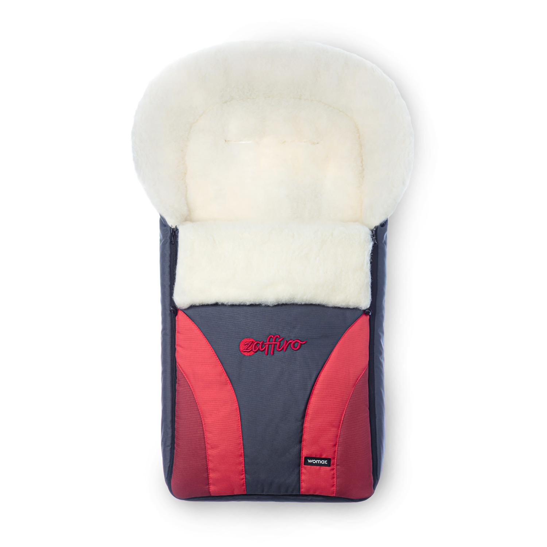 Купить Конверт-мешок для детской коляски WOMAR Crocus 677 цвет Красный,