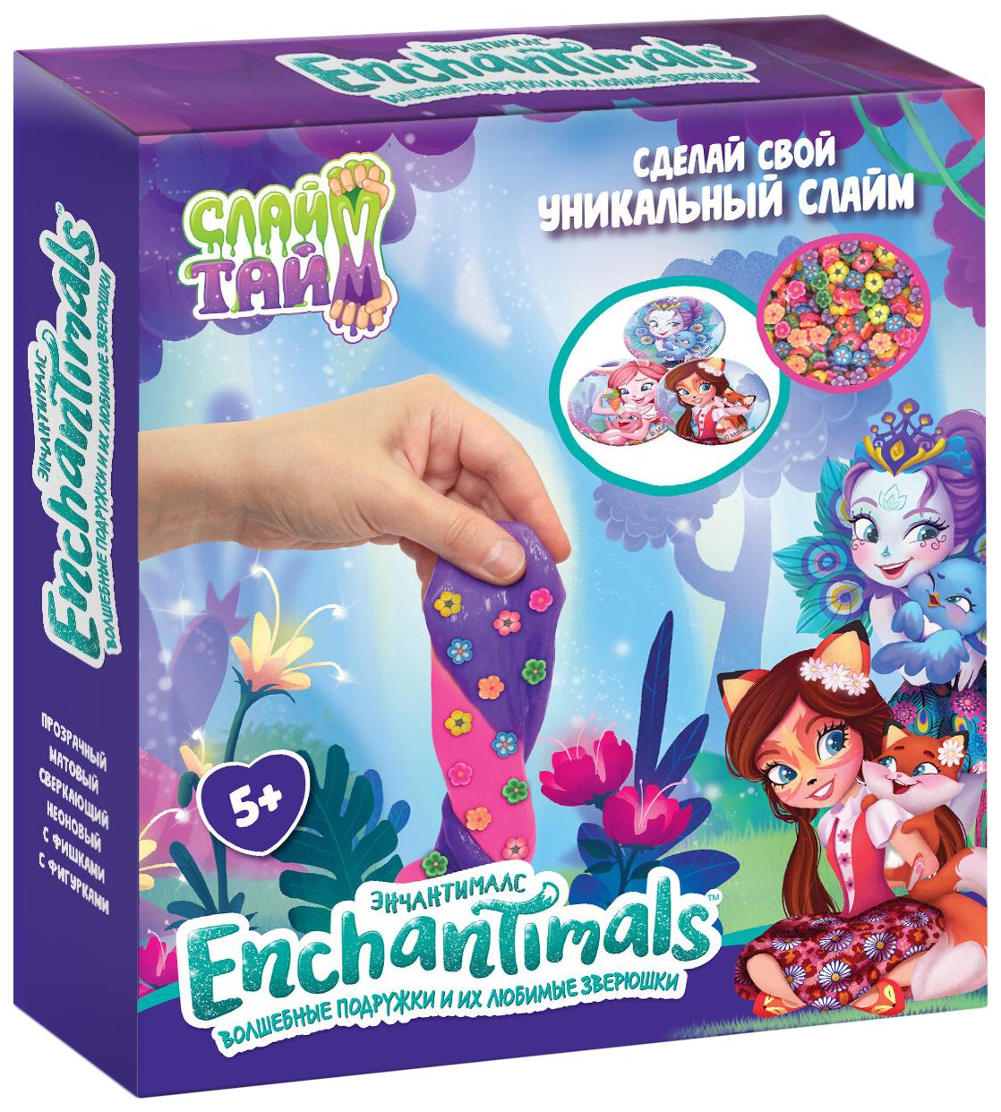 Набор 1 TOY Слайм тайм Enchantimals Т16617