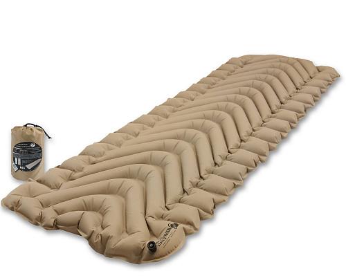 Надувной коврик, KLYMIT, Insulated Static V, песочный