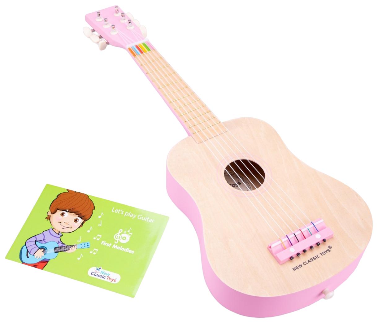 Купить Гитара New Classic Toys 10302 розовая,