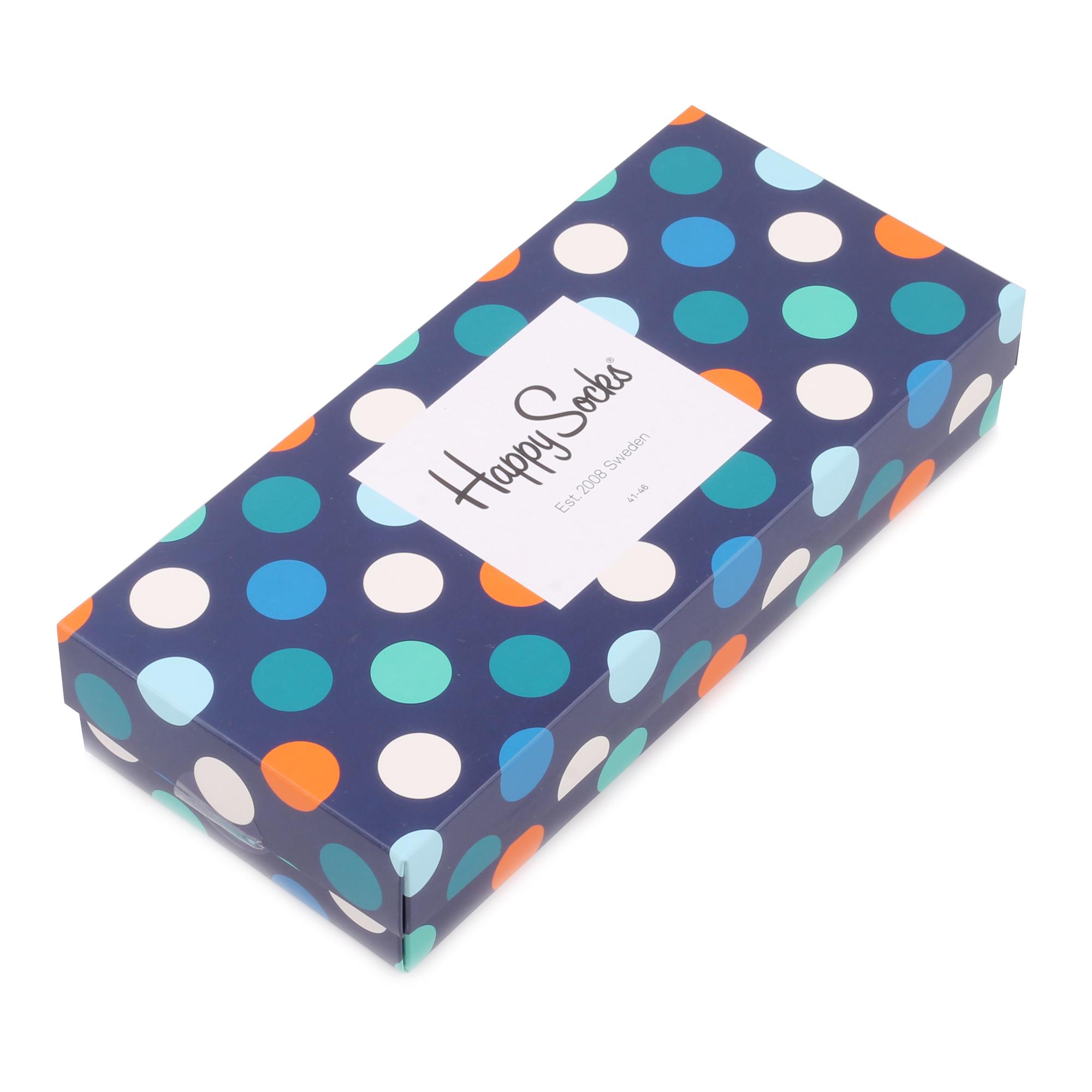 Подарочный набор носков унисекс Happy Socks Mix 4 Pair Pack разноцветный 41-46
