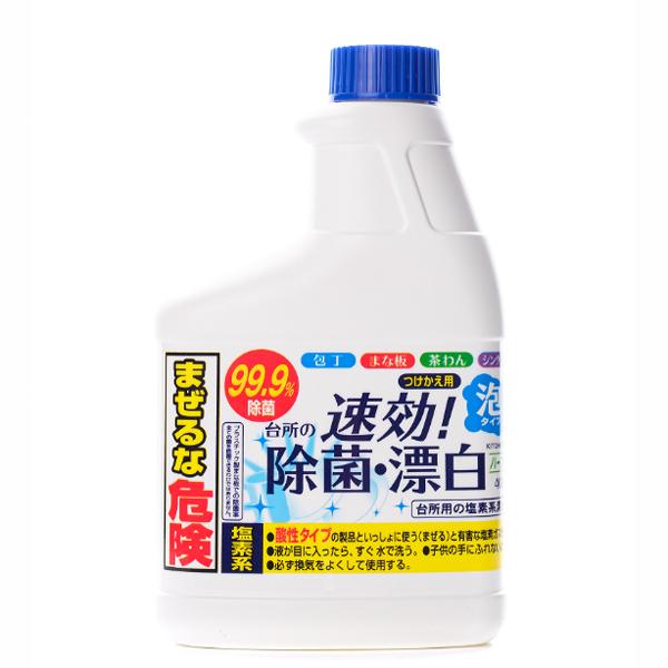 Хлорный отбеливатель для кухни пенящийся 400