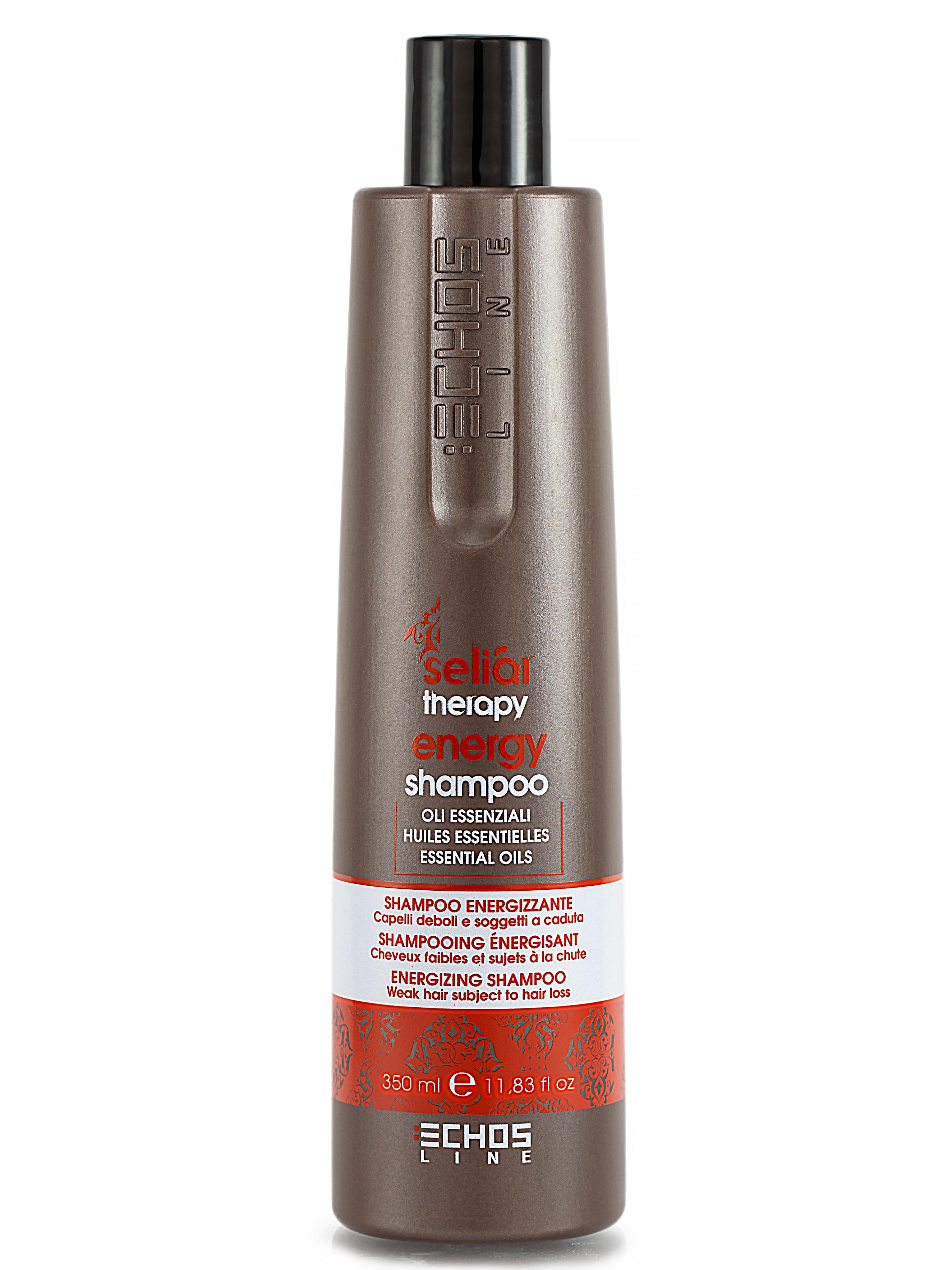 Купить Шампунь Echos Line, SELIAR ENERGY против выпадения волос энергетический 350 мл