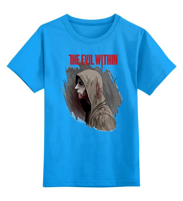 Купить 0000000684215, Детская футболка классическая Printio The evil within, р. 164,