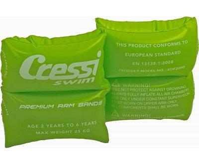 Нарукавники детские надувные CRESSI зеленый, 2 шт.