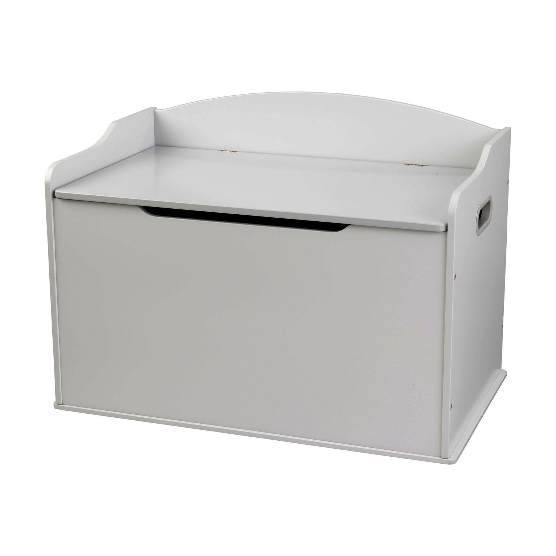 Купить Ящик для хранения KidKraft 14968_KE Austin Toy Box серый,