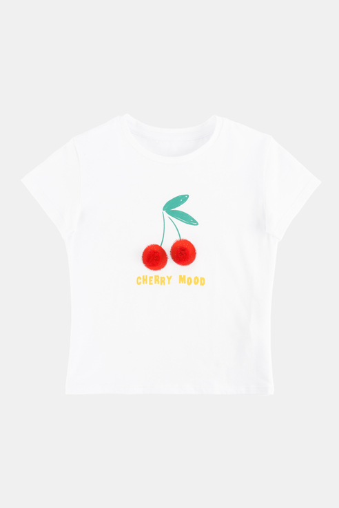 Купить Хлопковая футболка Белый 98 21-13803П-Э-3, Ennergiia,
