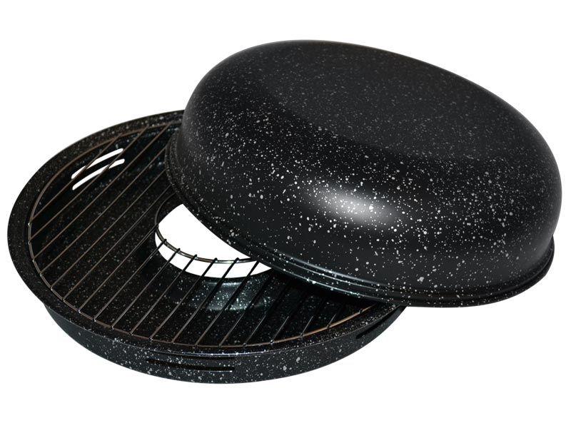 Сковорода гриль для газовой плиты (чёрная)