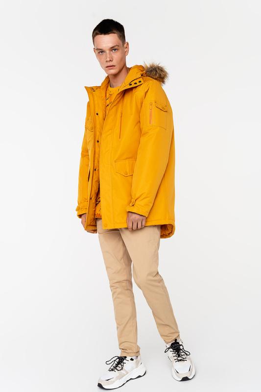 Куртка мужская befree 2039021109 желтая 48