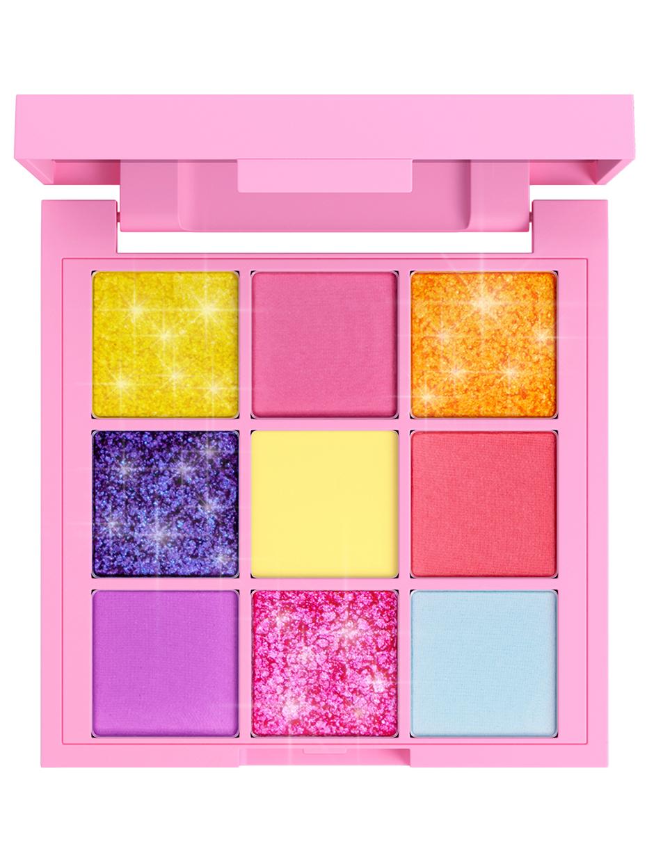 Купить Тени для век 7DAYS палетка 9 цветов с блестками Your Emotions Today Cute, 9 шт x 1 г