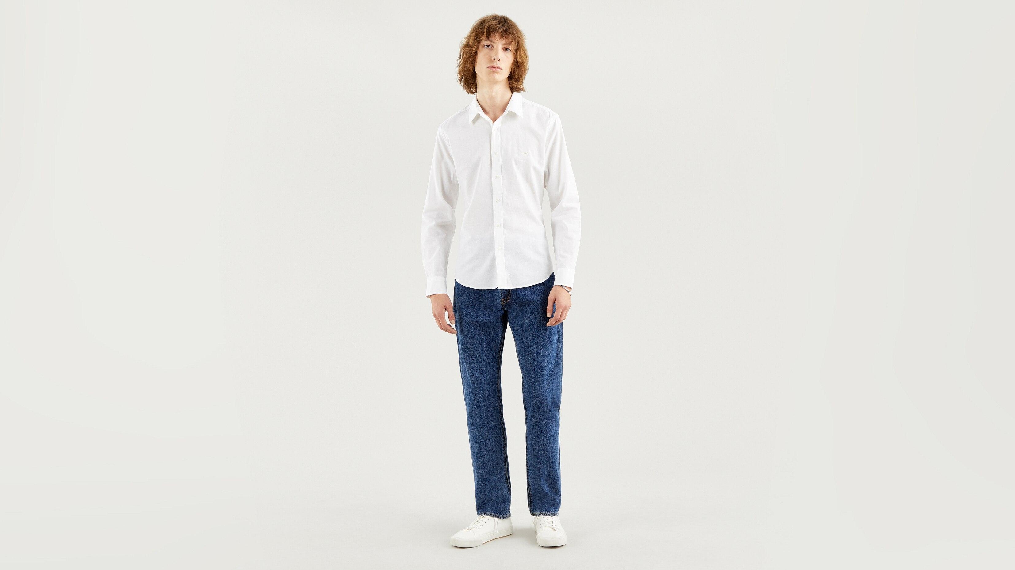 Рубашка мужская Levi's 86625-0002 белая XL