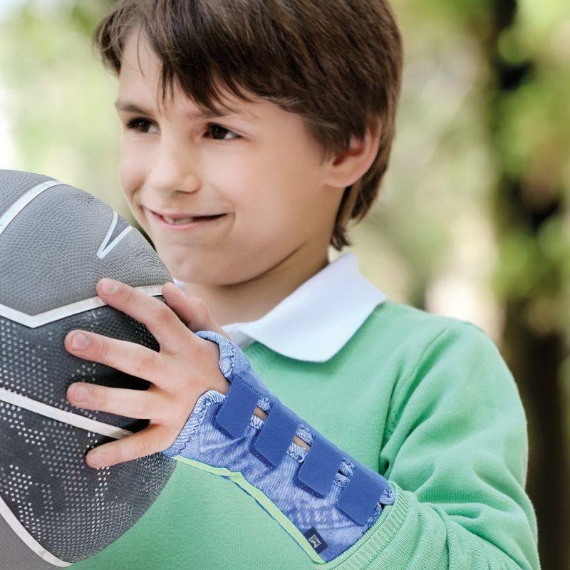 Купить Шина для лучезапястного сустава с моделируемой пластиной 878D Medi 4 Правый