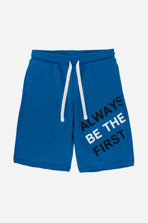 Купить Повседневные шорты из натуральной ткани Синий 98 21-14042П-Э, Ennergiia,