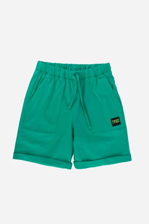 Купить Повседневные шорты из натуральной ткани Зеленый 98 21-14060Ц-Э, Ennergiia,