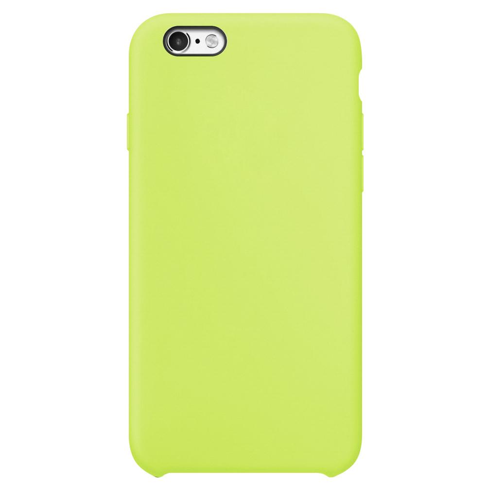 Чехол Silicone Case для iPhone 6/6S, зеленый, SCIP6S-31-GREE