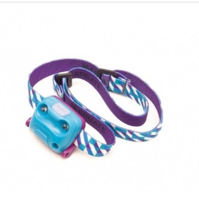 Фонарь налобный, ударопрочный и водостойкий ET, 18 люмен ACID BLUE, GT030061