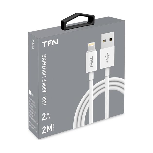 Кабель TFN Lightning 2m TPE White