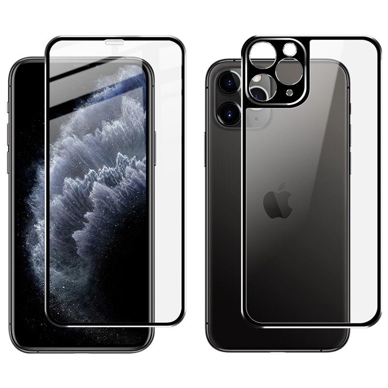 Комплект стекол 3D для iPhone 11 Pro Max, SPIP11PMFB-10-SPGR Apply