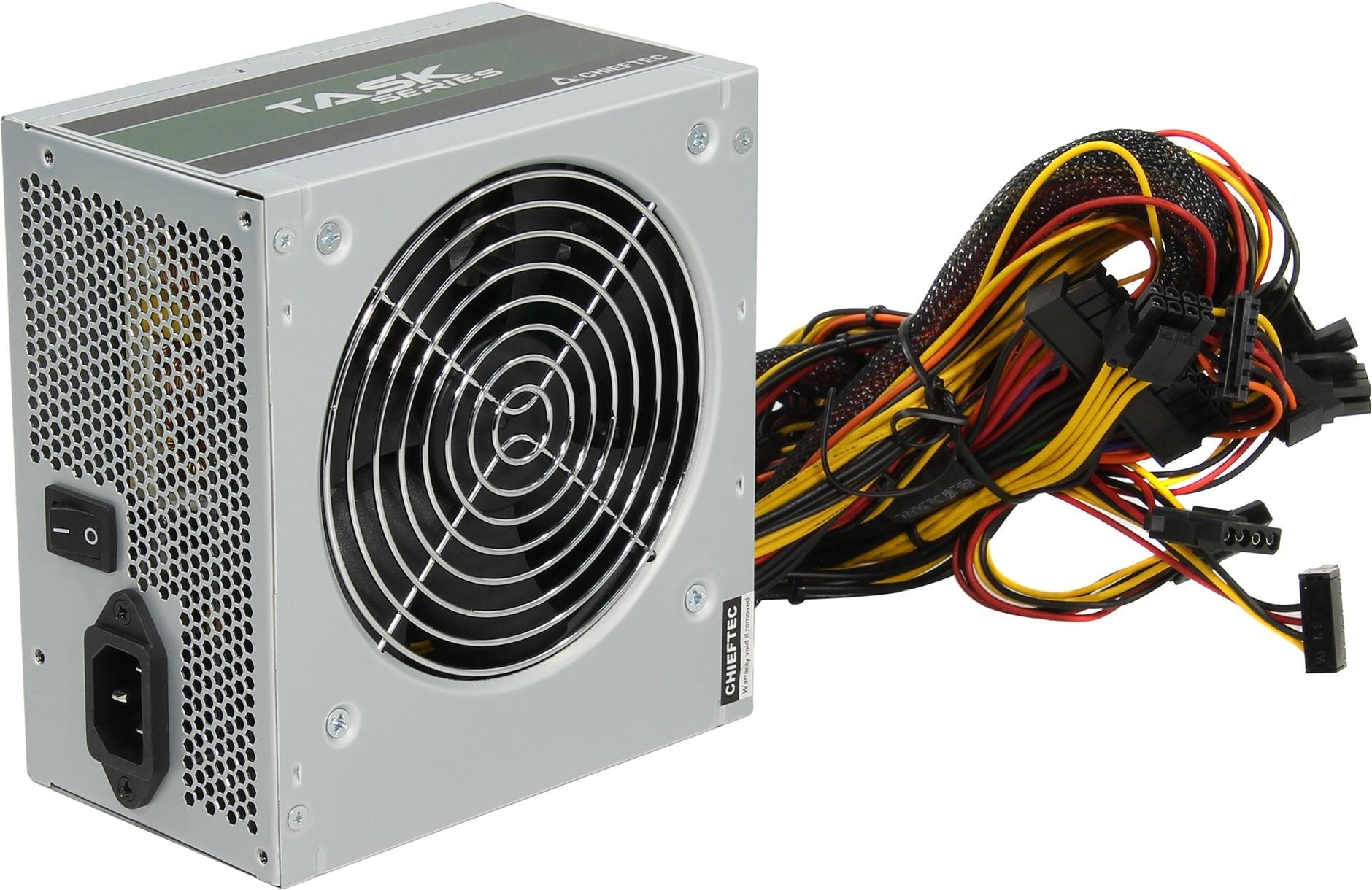 Блок питания компьютера Chieftec 500W OEM