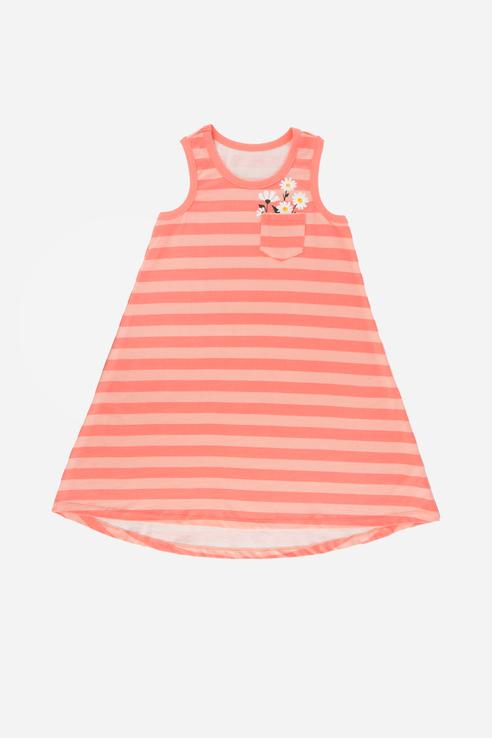 Купить Платье с оригинальным фасоном Ennergiia Коралловый 98 21-14143ПП-Э,