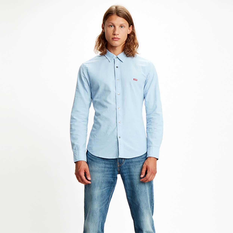 Рубашка мужская Levi's 86625-0005 голубая L