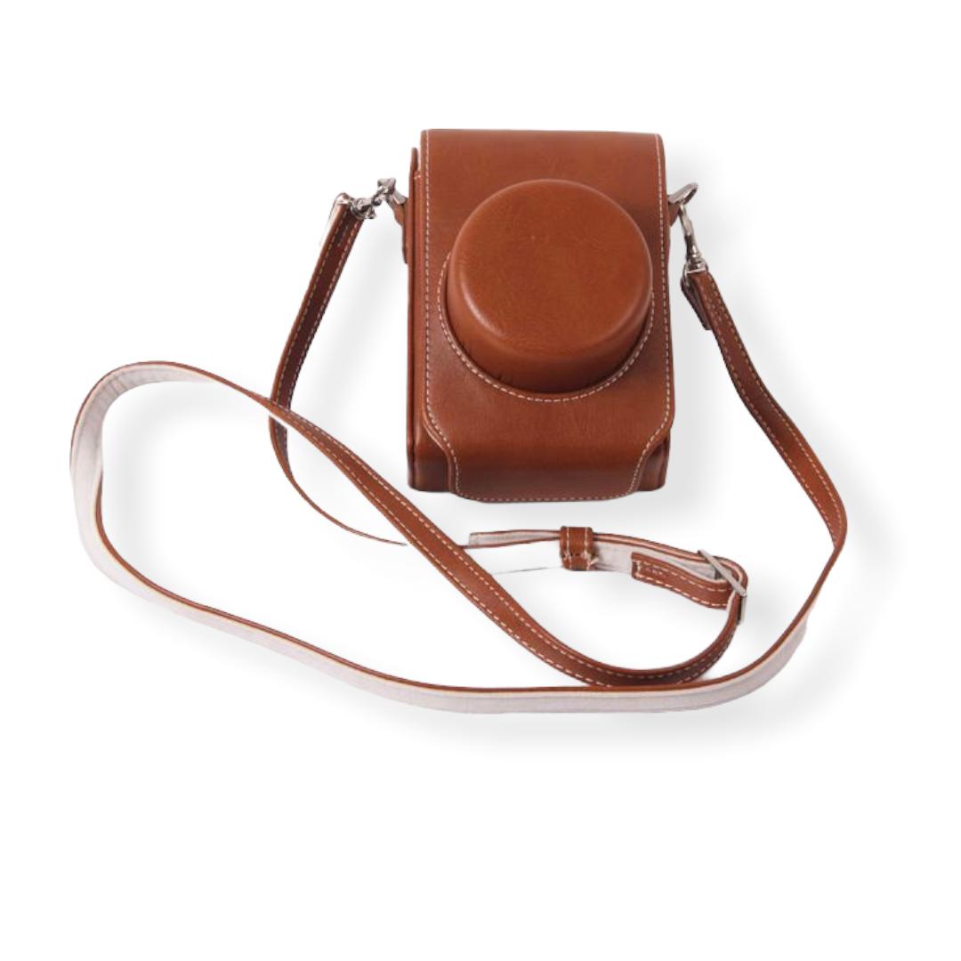 Сумка-кожух-кобура MyPads коричневая Leica D-Lux (Typ 109)