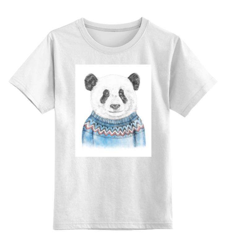 Детская футболка классическая Printio Панда, р. 152