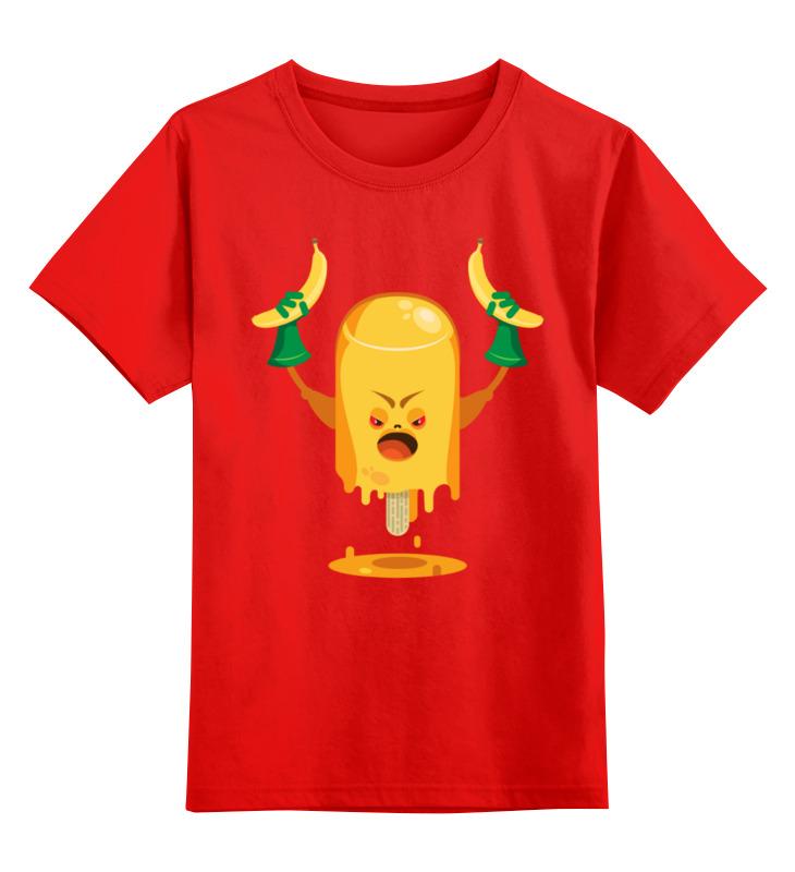 Детская футболка Printio Сердитое эскимо цв.красный р.164 0000003491447 по цене 1 190