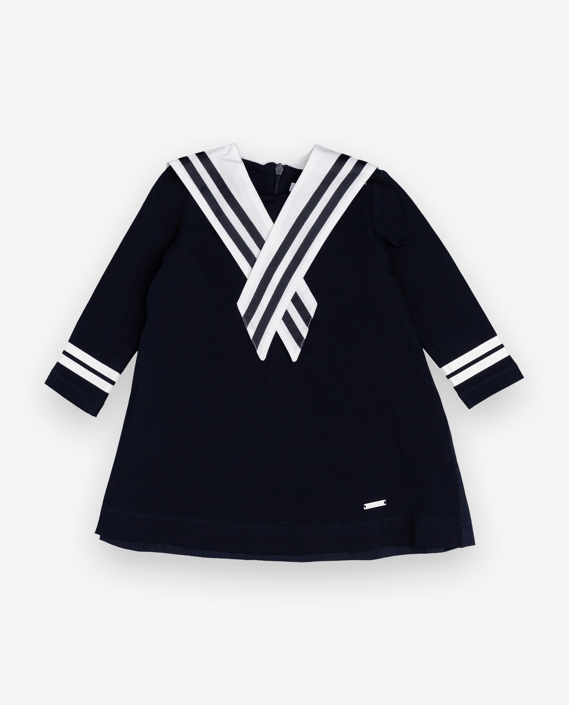 Купить 12032GBC5004, Платье для девочек Gulliver, цв. синий, р.74,