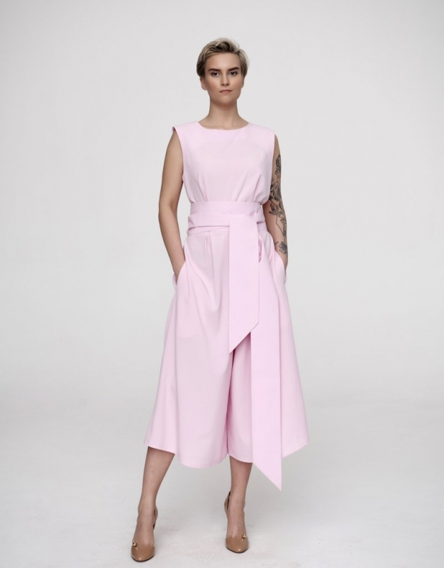 Комбинезон женская FUTTUR Rose Quartz розовая 46