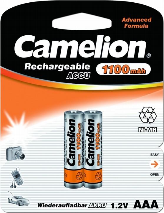 Аккумуляторная батарея Camelion AAA 1100mAh Ni