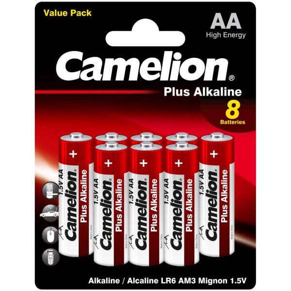 CAMELION LR6 PLUS ALKALINE BL-8