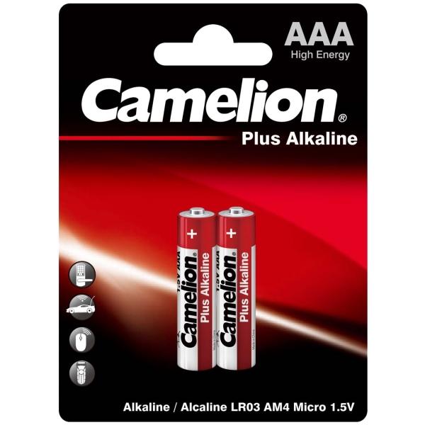 CAMELION LR03 PLUS ALKALINE BL-2