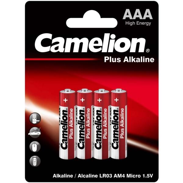 CAMELION LR03 PLUS ALKALINE BL-4