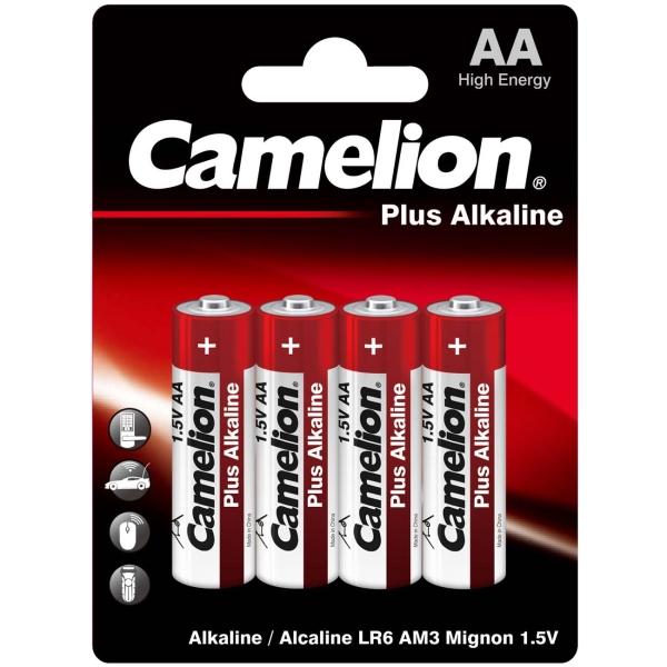 CAMELION LR 6 PLUS ALKALINE BL-4