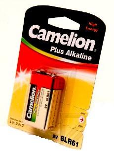 CAMELION 6LF22 PLUS ALKALINE BL-1