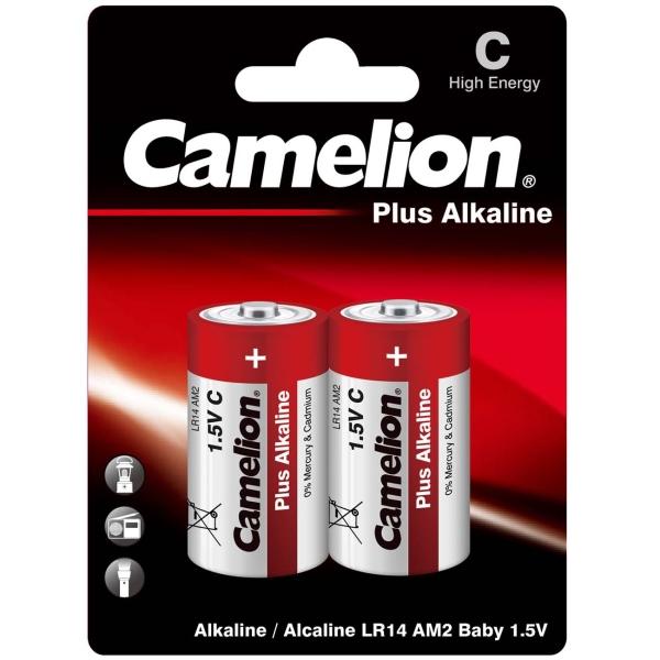 CAMELION LR14 PLUS ALKALINE BL-2