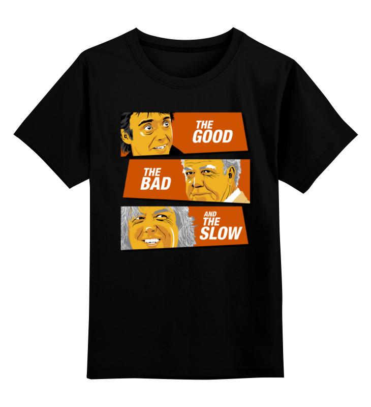 Купить 0000000695297, Детская футболка классическая Printio Топ гир, р. 104,