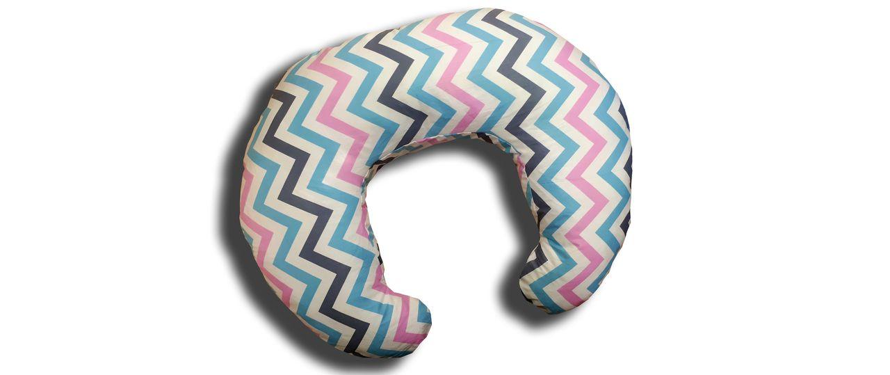 Подушка для кормления TEXXET C Зигзаг