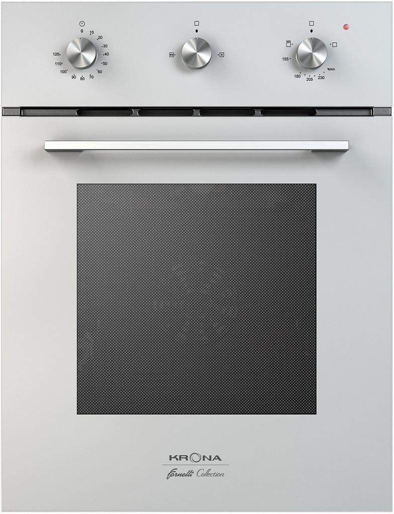 Встраиваемый газовый духовой шкаф KRONA STRETTO 45 WH