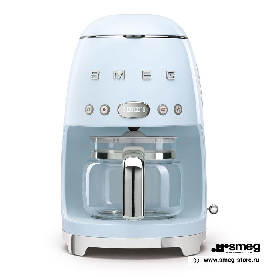 Кофеварка капельного типа Smeg DCF02PBEU Blue