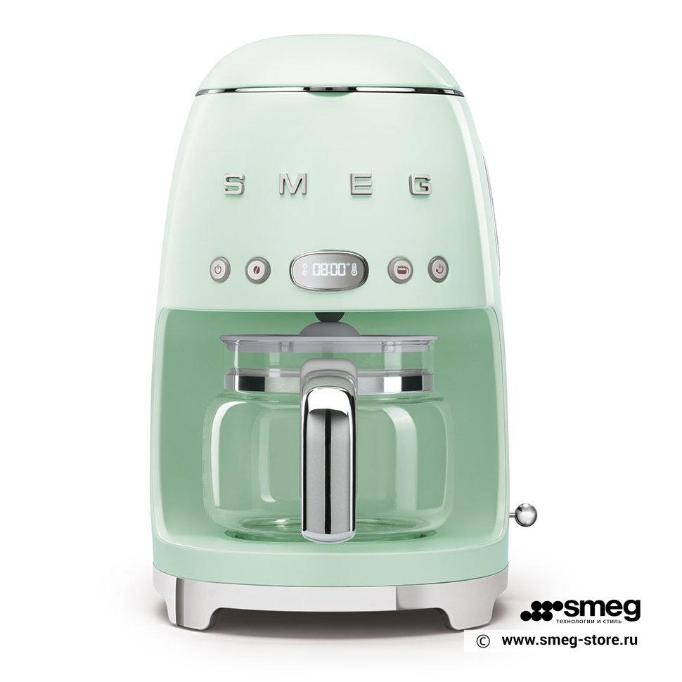 Кофеварка капельного типа Smeg DCF02PGEU Green фото