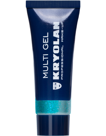 Купить Гель с блестками/Multi Gel 10 мл., Цв: PearlBlue/Kryolan/2300_PearlBlue, Гель с блестками, 10 мл.