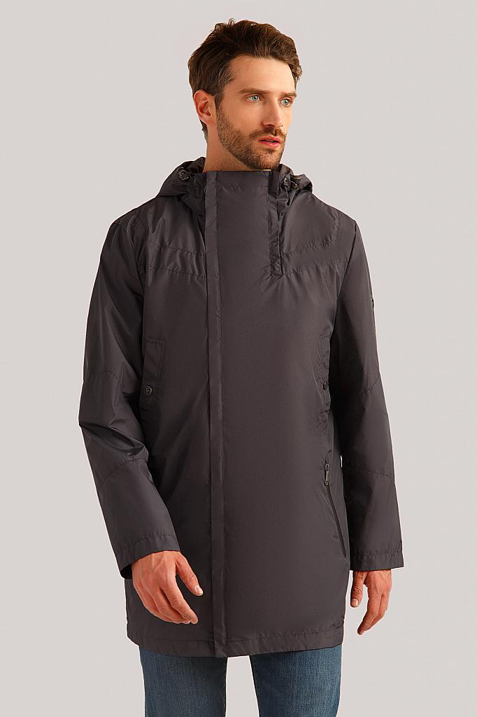 Куртка мужская Finn-Flare B19-42002 серая XL
