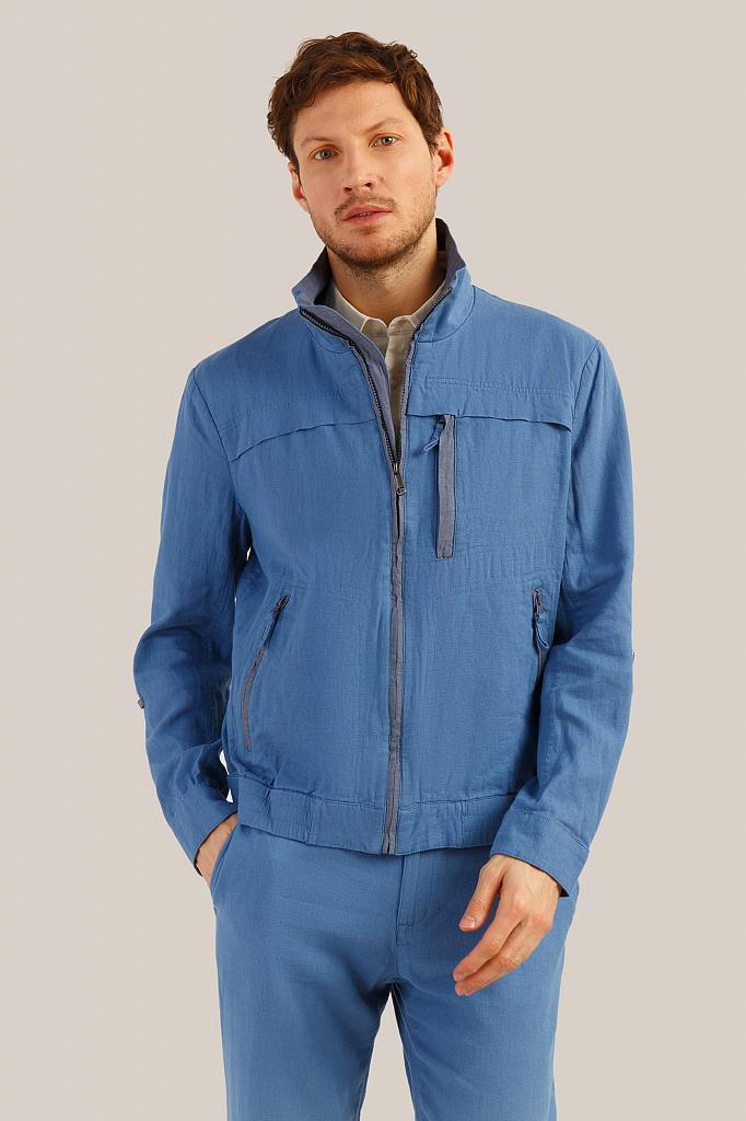 Куртка мужская Finn-Flare S19-24000 голубая XL
