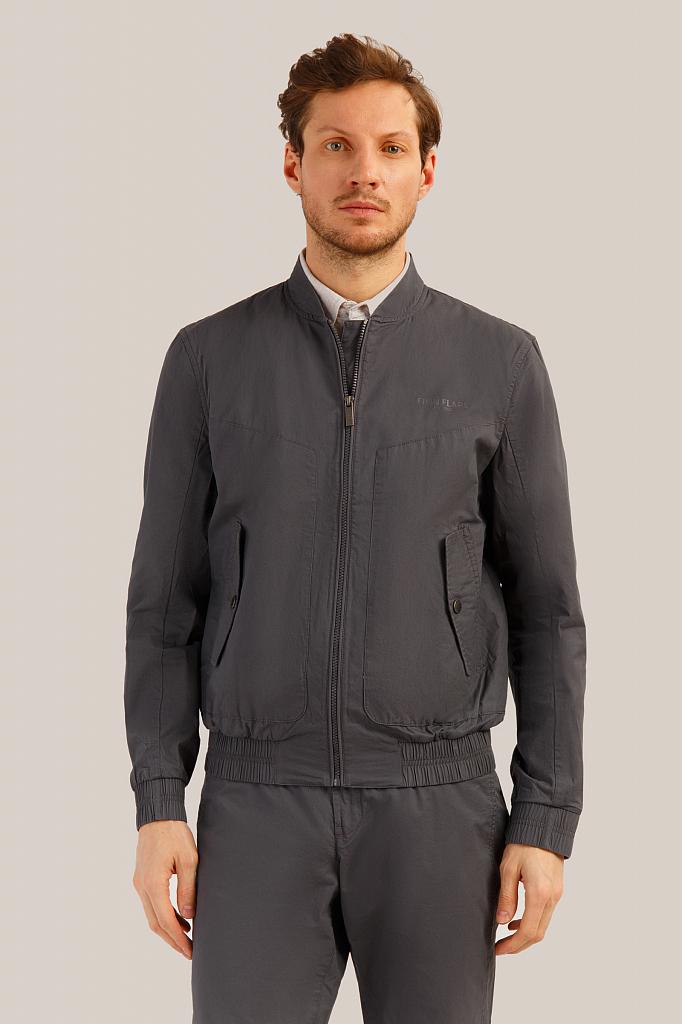 Куртка мужская Finn-Flare S19-22003 серая XL