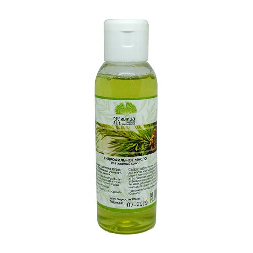 Масло гидрофильное для жирной кожи Живица