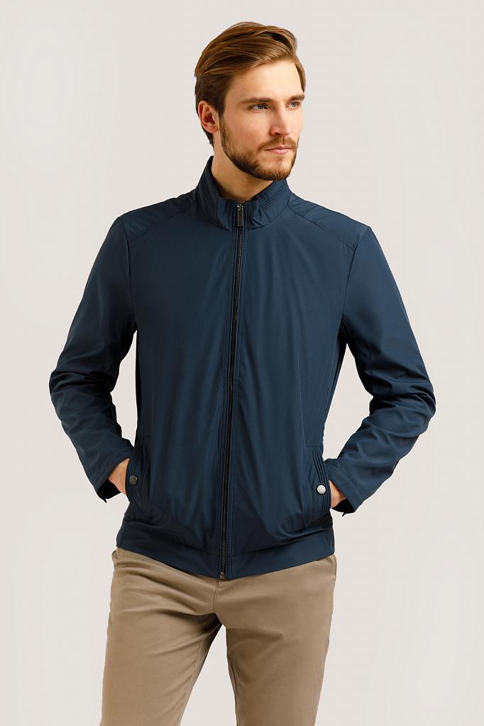 Куртка мужская Finn-Flare B20-21040 синяя L