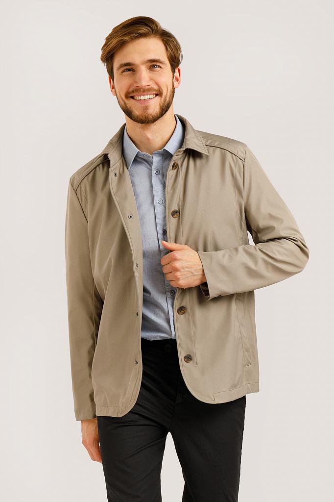 Куртка мужская Finn-Flare B20-22041 коричневая L